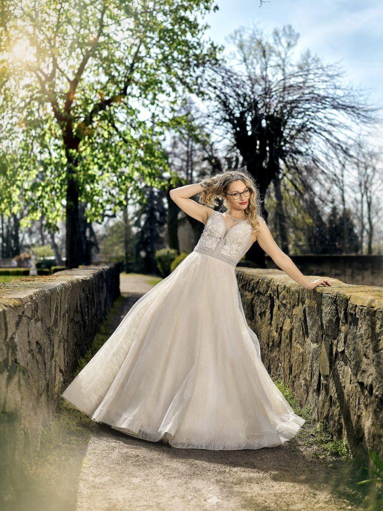 Brautkleid der besonderen Art